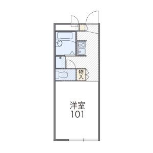 1K Apartment in Nakajima - Saitama-shi Sakura-ku Floorplan