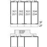 1K Apartment to Rent in Kodaira-shi Layout Drawing
