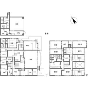 9LDK {building type} in Hokujo - Kitaazumi-gun Hakuba-mura Floorplan