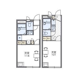 1K Apartment in Higashikomatsugawa - Edogawa-ku Floorplan