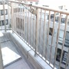 1R Apartment to Rent in Shinjuku-ku Balcony / Veranda