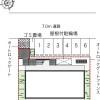1K Apartment to Rent in Nagoya-shi Higashi-ku Layout Drawing
