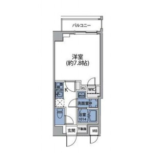 1K Mansion in Setagaya - Setagaya-ku Floorplan