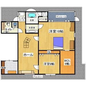2SLDK Mansion in Hiranonishi - Osaka-shi Hirano-ku Floorplan