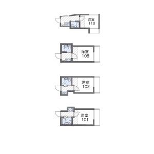 1K Apartment in Minamimagome - Ota-ku Floorplan