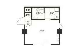 1R {building type} in Takadanobaba - Shinjuku-ku