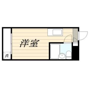1R Mansion in Arai - Nakano-ku Floorplan