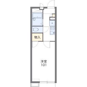 1K Apartment in Hama - Maizuru-shi Floorplan