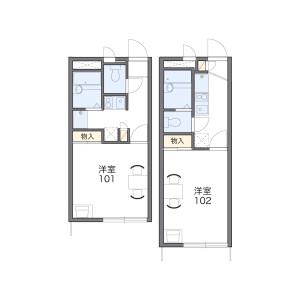 1K Apartment in Minamikibogaoka - Yokohama-shi Asahi-ku Floorplan