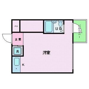 1R Mansion in Shiomi - Koto-ku Floorplan