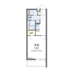 1K Apartment in Shibafuji - Kawaguchi-shi Floorplan
