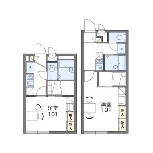 1K Apartment in Miicho - Neyagawa-shi Floorplan