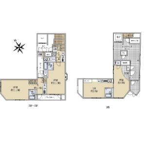 Whole Building {building type} in Ginza - Chuo-ku Floorplan