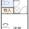 1K Apartment to Rent in Osaka-shi Higashiyodogawa-ku Floorplan