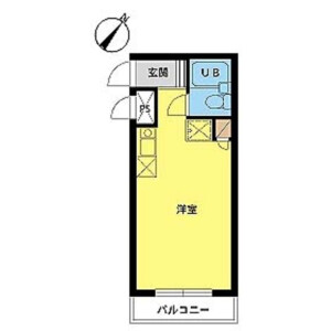 1R Mansion in Futagocho - Funabashi-shi Floorplan