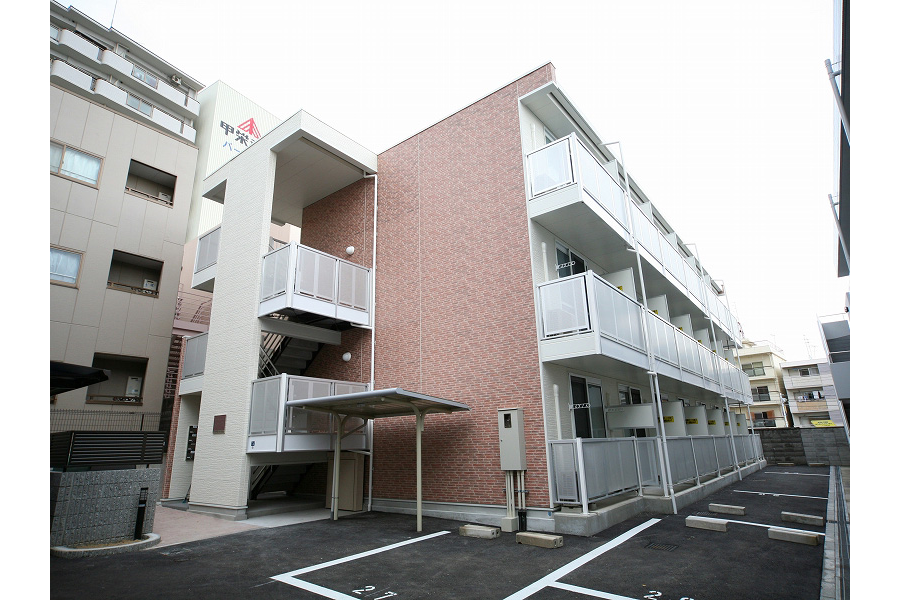 1LDK Apartment to Rent in Kobe-shi Nada-ku Exterior