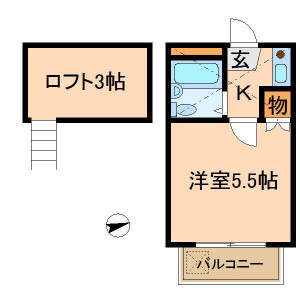 1K Apartment in Motoyoyogicho - Shibuya-ku Floorplan