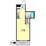 1R Mansion in Inukura - Kawasaki-shi Miyamae-ku Floorplan