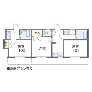 2K Apartment in Denenchofu - Ota-ku Floorplan