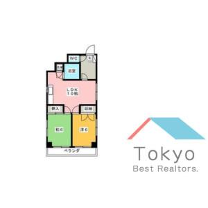 2LDK Mansion in Ikebukuro (2-4-chome) - Toshima-ku Floorplan