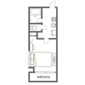 1K Mansion in Ishiwara - Sumida-ku Floorplan