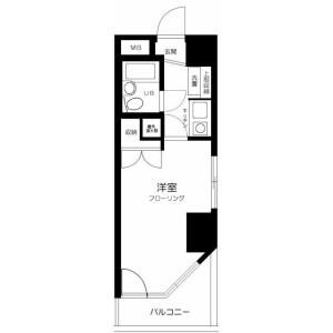 1K Mansion in Mukogaoka - Bunkyo-ku Floorplan