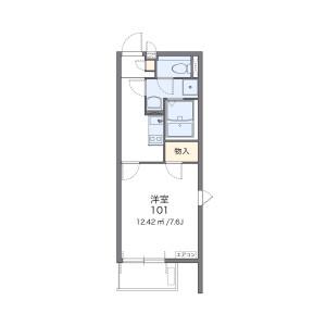 1K Mansion in Yutakacho - Shinagawa-ku Floorplan