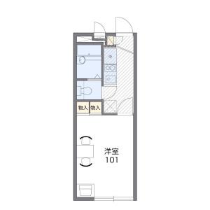 1K Apartment in Hikaricho - Kokubunji-shi Floorplan