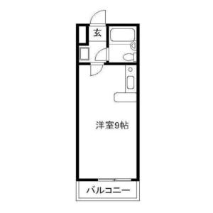 1R Apartment in Higashikasai - Edogawa-ku Floorplan