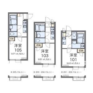1K Apartment in Kamijujo - Kita-ku Floorplan