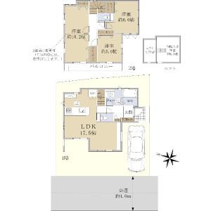 3LDK {building type} in Torocho - Saitama-shi Kita-ku Floorplan