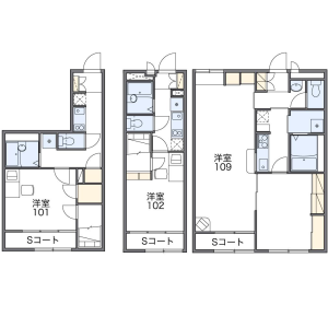 1K Apartment in Ishikawamachi - Hachioji-shi Floorplan
