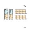 在國分寺市內租賃1K 公寓 的房產 房間格局