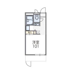 1K Mansion in Yuzato - Osaka-shi Higashisumiyoshi-ku Floorplan