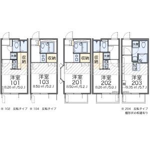 1R Apartment in Mukogaoka - Bunkyo-ku Floorplan