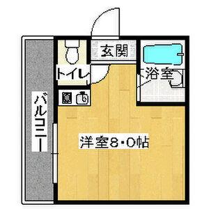1R Mansion in Hiranonishi - Osaka-shi Hirano-ku Floorplan