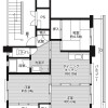 3DK Apartment to Rent in Iga-shi Floorplan
