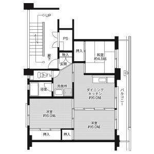 3DK Mansion in Hatsutoricho - Iga-shi Floorplan