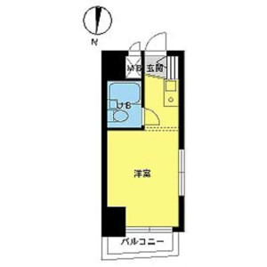 1R Mansion in Shimotakaido - Suginami-ku Floorplan