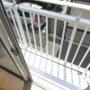 1K Apartment to Rent in Chofu-shi Balcony / Veranda