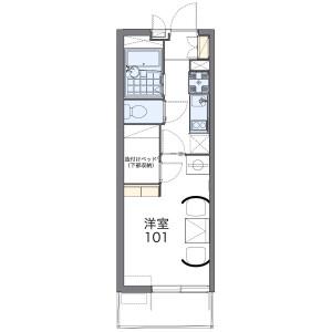 1K Mansion in Kameicho - Yao-shi Floorplan