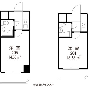 1K Mansion in Matsugaoka - Nakano-ku Floorplan