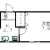 1K Apartment to Rent in Shibuya-ku Floorplan