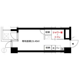 1R Mansion in Shirakawa - Koto-ku Floorplan