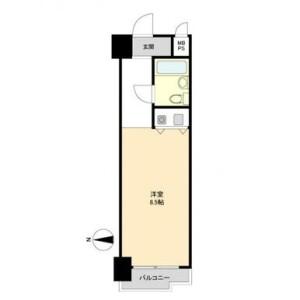 1R {building type} in Minamisemba - Osaka-shi Chuo-ku Floorplan