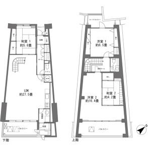 4LDK {building type} in Mikkabicho osaki - Hamamatsu-shi Kita-ku Floorplan