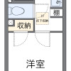 在朝霞市內租賃1K 公寓 的房產 房間格局