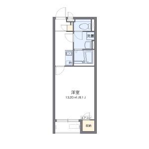 1K Apartment in Yukinaga - Maizuru-shi Floorplan