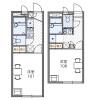 在江戶川區內租賃1K 公寓 的房產 房間格局
