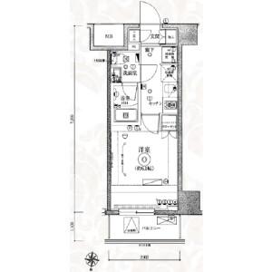 1K {building type} in Aoi(4-6-chome) - Adachi-ku Floorplan